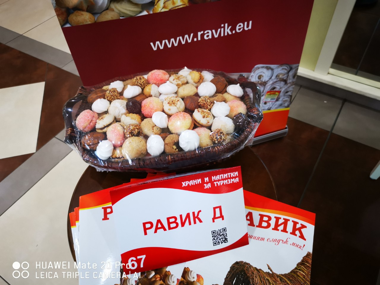 Food and drink for tourism